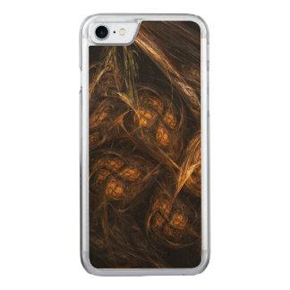 Mutter-Erdabstrakte Kunst Carved iPhone 8/7 Hülle