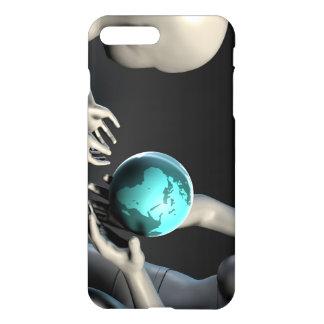 Mutter Erde, die zu ihren Kindern als Konzept iPhone 7 Plus Hülle