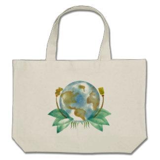 Mutter Erde: Räumen Sie sie auf Einkaufstasche