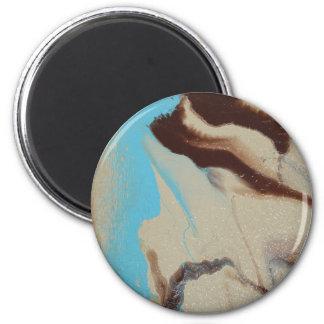 Mutter Erde Runder Magnet 5,7 Cm