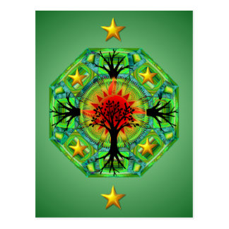 Mutter Erden-Postkarte Postkarte