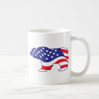 Mutter Grizzly Patriotic Grizzly Kaffeetasse