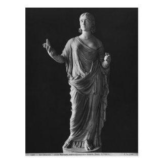 Mutter Julia Mamaea des Kaisers Severus Alexander Postkarte