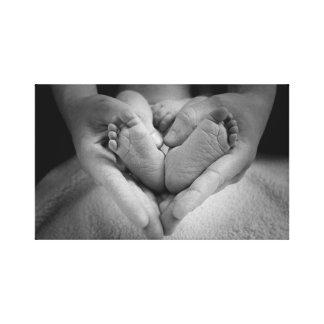 Mutter-Liebe Leinwanddruck