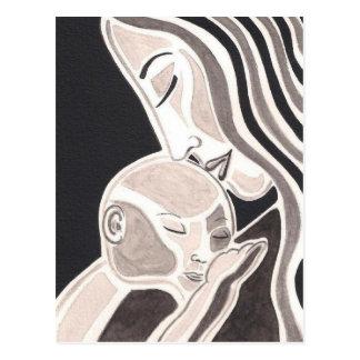 Mutter-Liebe Postkarte