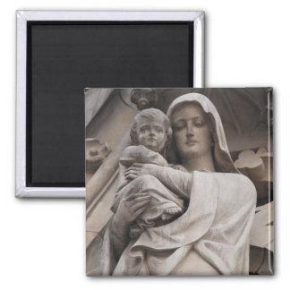 Mutter Mary Quadratischer Magnet