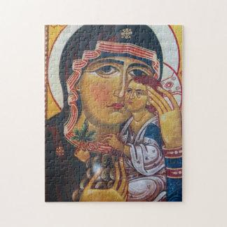 Mutter Mary und Jesus-Kunst Puzzle