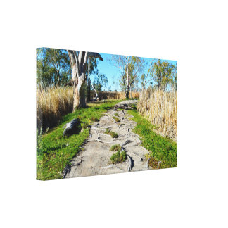 Mutter Natur-Fußweg, Leinwanddruck