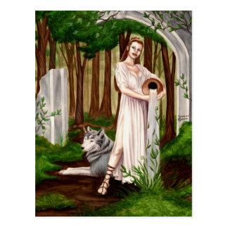 Mutter Natur-Postkarten Postkarte
