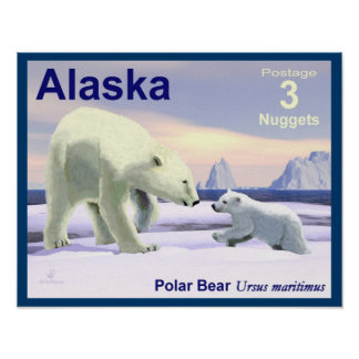 Mutter Nose Best - Alaska-Porto Poster