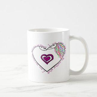 Mutter Reveal Drawing und Gedicht Kaffeetasse