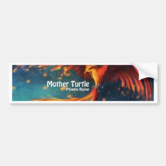 Mutter-Schildkröte-Produkte Autoaufkleber