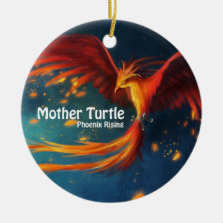 Mutter-Schildkröte-Produkte Keramik Ornament