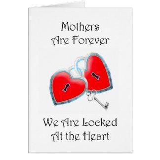 Mütter sind für immer Gruß-Karte