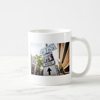 Mutter-Straße des Weg-66 Kaffeetasse