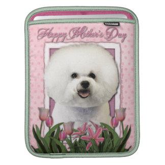 Mutter-Tag - rosa Tulpen - Bichon Frise Sleeve Für iPads