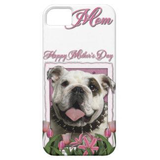 Mutter-Tag - rosa Tulpen - Bulldogge Etui Fürs iPhone 5