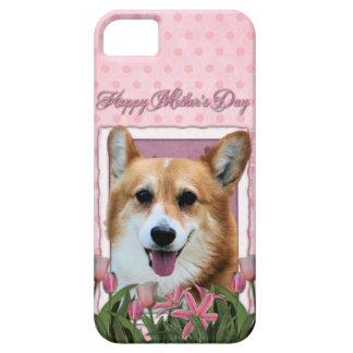 Mutter-Tag - rosa Tulpen - Corgi - Owen Hülle Fürs iPhone 5