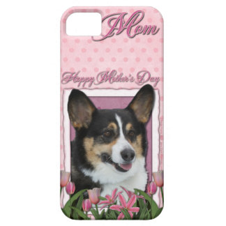 Mutter-Tag - rosa Tulpen - Corgi - Owen iPhone 5 Etuis