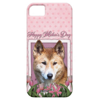 Mutter-Tag - rosa Tulpen - Dingo iPhone 5 Cover