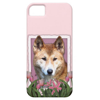 Mutter-Tag - rosa Tulpen - Dingo iPhone 5 Etuis