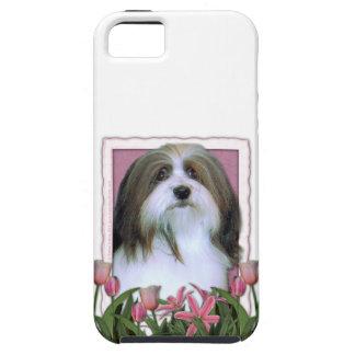 Mutter-Tag - rosa Tulpen - Havanese Schutzhülle Fürs iPhone 5