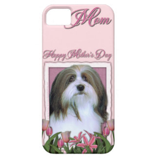 Mutter-Tag - rosa Tulpen - Havanese iPhone 5 Cover