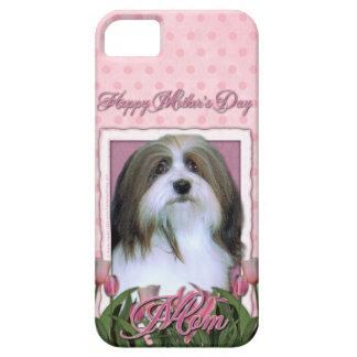 Mutter-Tag - rosa Tulpen - Havanese iPhone 5 Hülle