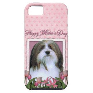 Mutter-Tag - rosa Tulpen - Havanese iPhone 5 Schutzhüllen