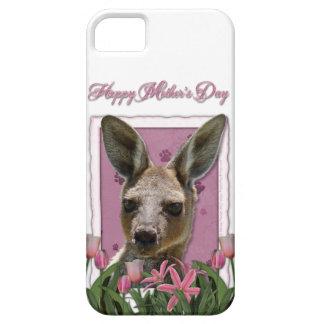 Mutter-Tag - rosa Tulpen - Känguru iPhone 5 Case