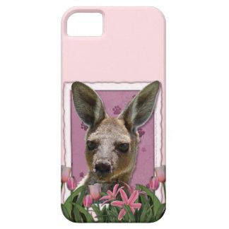 Mutter-Tag - rosa Tulpen - Känguru Schutzhülle Fürs iPhone 5