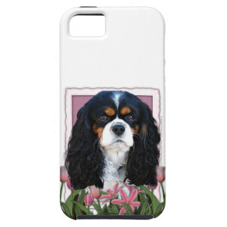 Mutter-Tag - rosa Tulpen - Kavalier - Tri Farbe iPhone 5 Cover