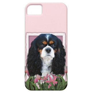 Mutter-Tag - rosa Tulpen - Kavalier - Tri Farbe iPhone 5 Case