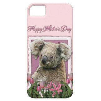 Mutter-Tag - rosa Tulpen - Koala Etui Fürs iPhone 5