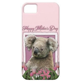 Mutter-Tag - rosa Tulpen - Koala iPhone 5 Cover
