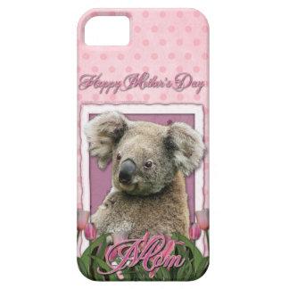 Mutter-Tag - rosa Tulpen - Koala iPhone 5 Schutzhüllen