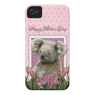 Mutter-Tag - rosa Tulpen - Koala iPhone 4 Hüllen