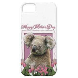 Mutter-Tag - rosa Tulpen - Koala iPhone 5 Etuis