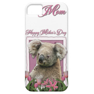 Mutter-Tag - rosa Tulpen - Koala iPhone 5 Hüllen