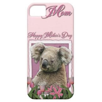 Mutter-Tag - rosa Tulpen - Koala Schutzhülle Fürs iPhone 5