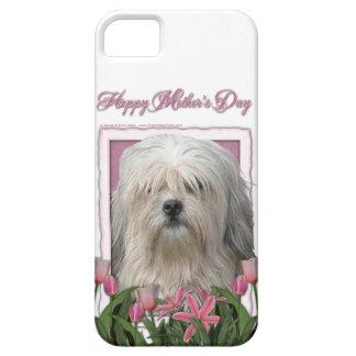 Mutter-Tag - rosa Tulpen - Lowchen Hülle Fürs iPhone 5