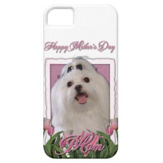 Mutter-Tag - rosa Tulpen - maltesisch Etui Fürs iPhone 5