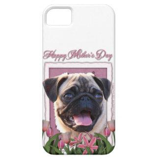 Mutter-Tag - rosa Tulpen - Mops Schutzhülle Fürs iPhone 5