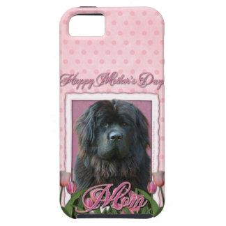 Mutter-Tag - rosa Tulpen - Neufundland iPhone 5 Schutzhüllen