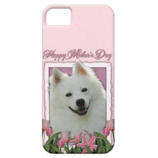 Mutter-Tag - rosa Tulpen - Schäferhund iPhone 5 Schutzhülle