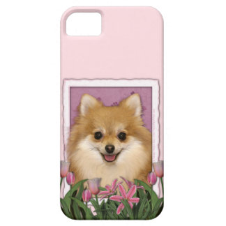 Mutter-Tag - rosa Tulpen - Spitz iPhone 5 Case