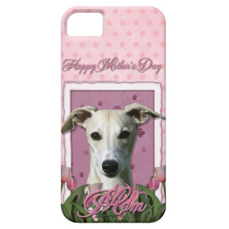 Mutter-Tag - rosa Tulpen - Whippet Hülle Fürs iPhone 5