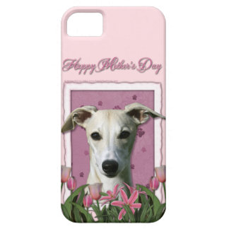 Mutter-Tag - rosa Tulpen - Whippet iPhone 5 Hüllen