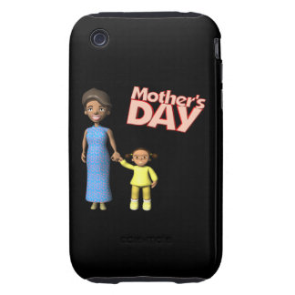 Mutter-Tag Tough iPhone 3 Hüllen