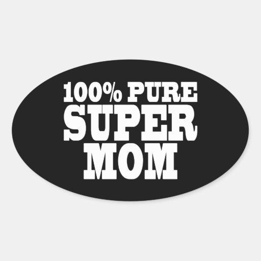 Mutter-Tag u. Mamma-Geburtstage: 100% reine Superm Aufkleber